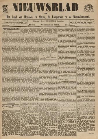 Nieuwsblad het land van Heusden en Altena de Langstraat en de Bommelerwaard 1903-04-22