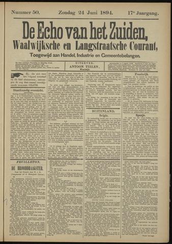 Echo van het Zuiden 1894-06-24