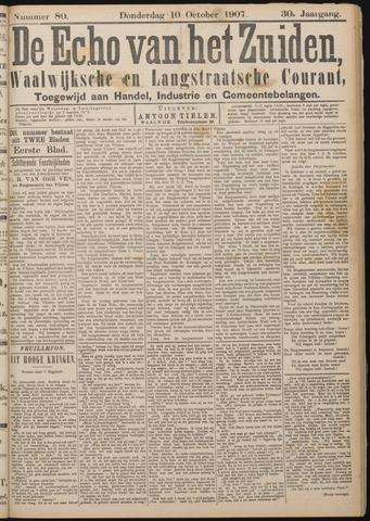 Echo van het Zuiden 1907-10-10