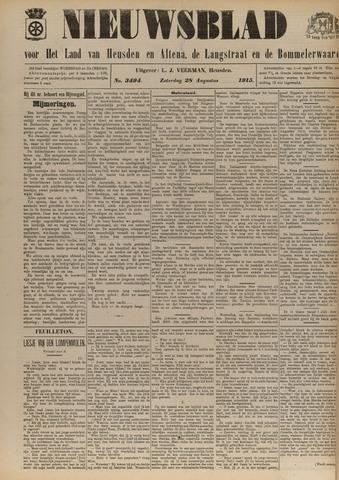 Nieuwsblad het land van Heusden en Altena de Langstraat en de Bommelerwaard 1915-08-28