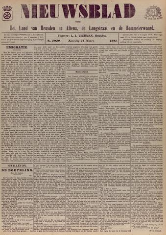 Nieuwsblad het land van Heusden en Altena de Langstraat en de Bommelerwaard 1911-03-11