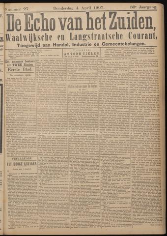 Echo van het Zuiden 1907-04-04