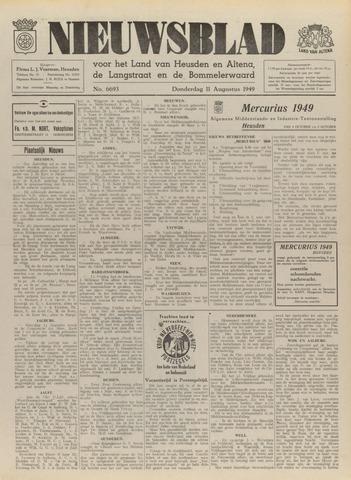 Nieuwsblad het land van Heusden en Altena de Langstraat en de Bommelerwaard 1949-08-11