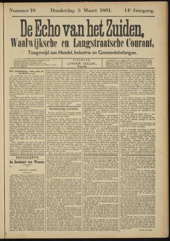 Echo van het Zuiden 1891-03-05