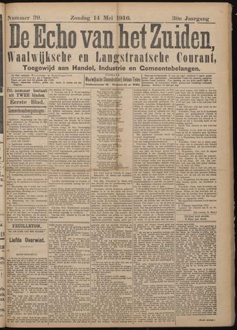 Echo van het Zuiden 1916-05-14