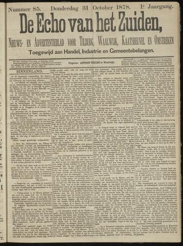 Echo van het Zuiden 1878-10-31