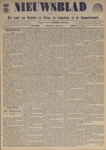 Nieuwsblad het land van Heusden en Altena de Langstraat en de Bommelerwaard 1908-08-01