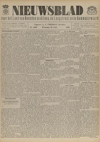 Nieuwsblad het land van Heusden en Altena de Langstraat en de Bommelerwaard 1921-06-22