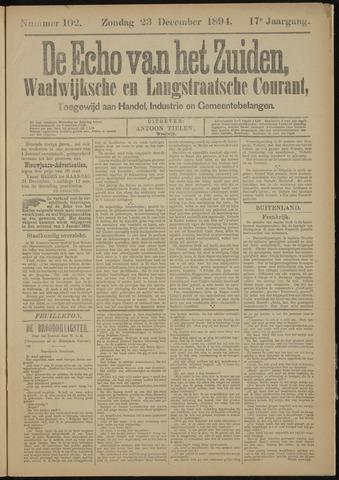 Echo van het Zuiden 1894-12-23