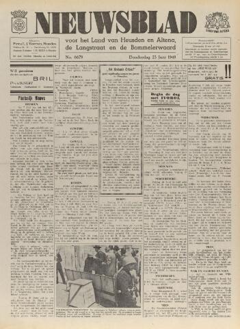 Nieuwsblad het land van Heusden en Altena de Langstraat en de Bommelerwaard 1949-06-23