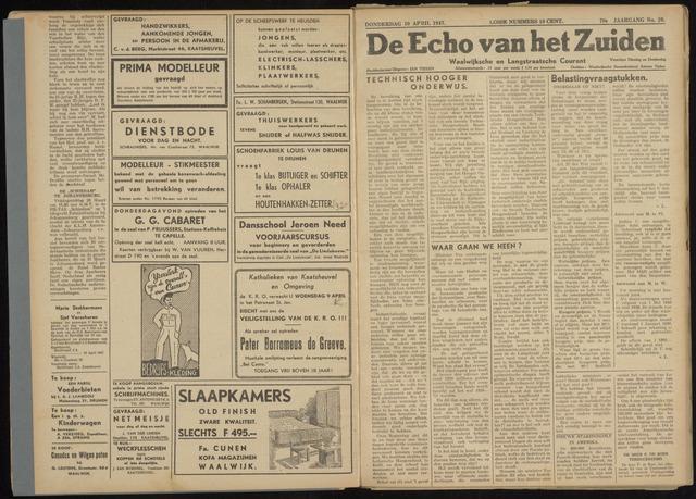 Echo van het Zuiden 1947-04-10