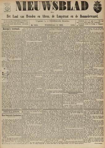 Nieuwsblad het land van Heusden en Altena de Langstraat en de Bommelerwaard 1893-05-17