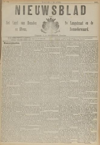 Nieuwsblad het land van Heusden en Altena de Langstraat en de Bommelerwaard 1891-04-15