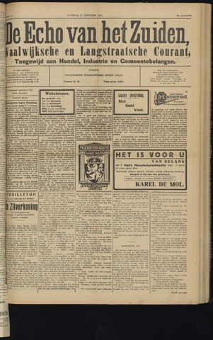 Echo van het Zuiden 1931-09-26