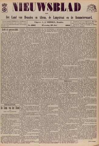 Nieuwsblad het land van Heusden en Altena de Langstraat en de Bommelerwaard 1910-07-20