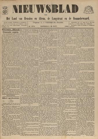 Nieuwsblad het land van Heusden en Altena de Langstraat en de Bommelerwaard 1903-11-28