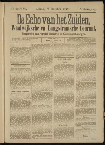 Echo van het Zuiden 1895-10-06