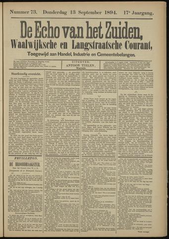 Echo van het Zuiden 1894-09-13