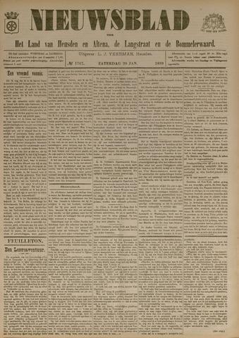 Nieuwsblad het land van Heusden en Altena de Langstraat en de Bommelerwaard 1899-01-28