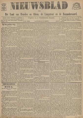 Nieuwsblad het land van Heusden en Altena de Langstraat en de Bommelerwaard 1897-09-04