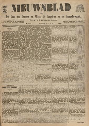 Nieuwsblad het land van Heusden en Altena de Langstraat en de Bommelerwaard 1902-10-01