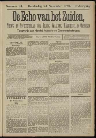 Echo van het Zuiden 1881-11-24