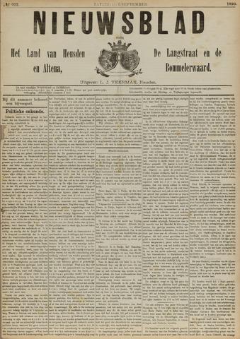 Nieuwsblad het land van Heusden en Altena de Langstraat en de Bommelerwaard 1890-09-06
