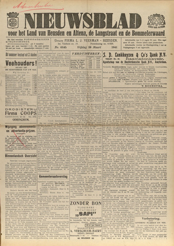 Nieuwsblad het land van Heusden en Altena de Langstraat en de Bommelerwaard 1941-03-28