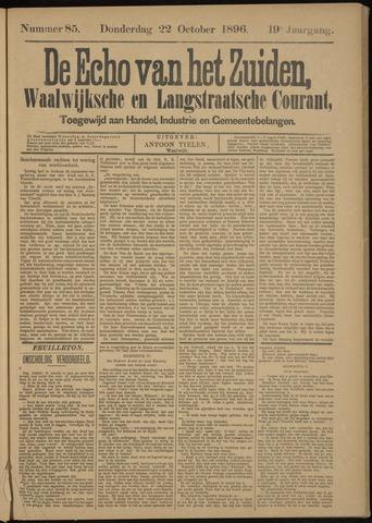 Echo van het Zuiden 1896-10-22