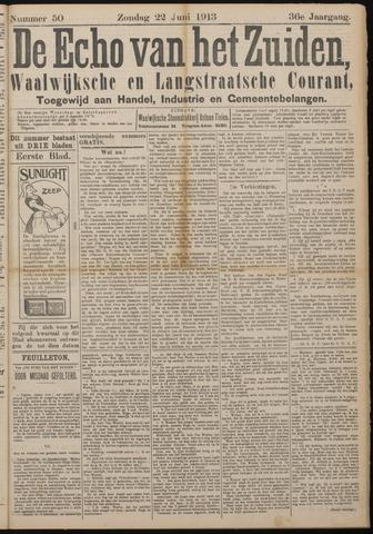Echo van het Zuiden 1913-06-22