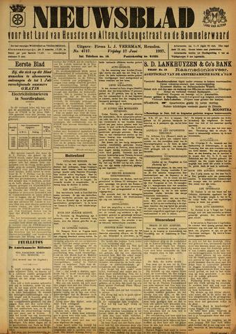 Nieuwsblad het land van Heusden en Altena de Langstraat en de Bommelerwaard 1927-06-17
