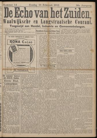 Echo van het Zuiden 1913-02-16