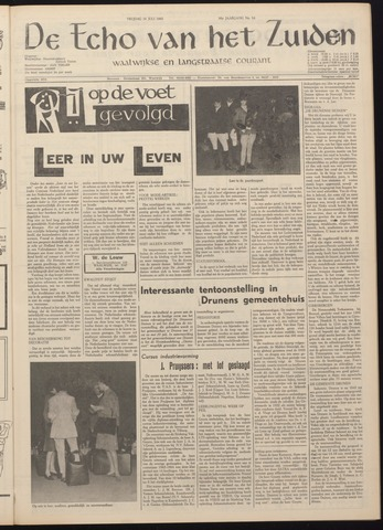 Echo van het Zuiden 1965-07-16