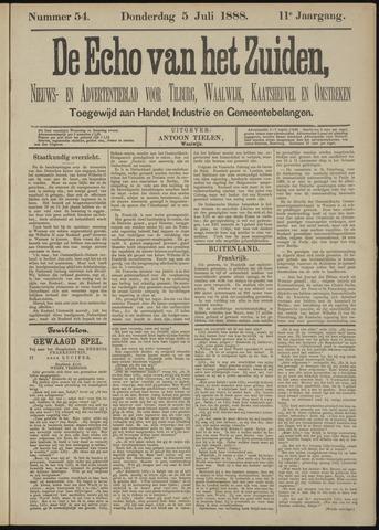 Echo van het Zuiden 1888-07-05