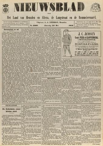 Nieuwsblad het land van Heusden en Altena de Langstraat en de Bommelerwaard 1913-05-24