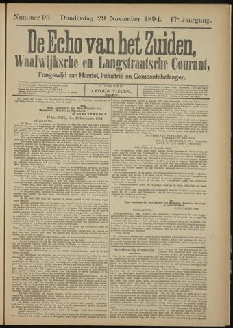 Echo van het Zuiden 1894-11-29