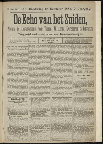 Echo van het Zuiden 1884-12-18