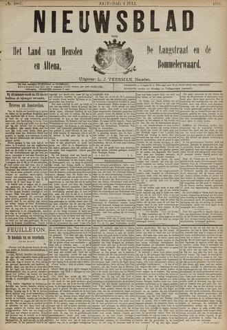 Nieuwsblad het land van Heusden en Altena de Langstraat en de Bommelerwaard 1891-07-04