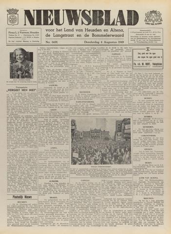 Nieuwsblad het land van Heusden en Altena de Langstraat en de Bommelerwaard 1949-08-04