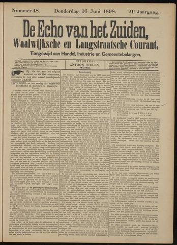 Echo van het Zuiden 1898-06-16