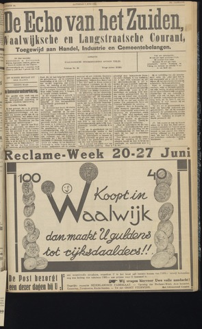 Echo van het Zuiden 1931-06-06