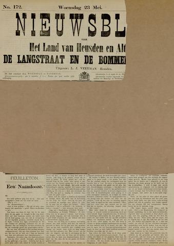 Nieuwsblad het land van Heusden en Altena de Langstraat en de Bommelerwaard 1883-05-23