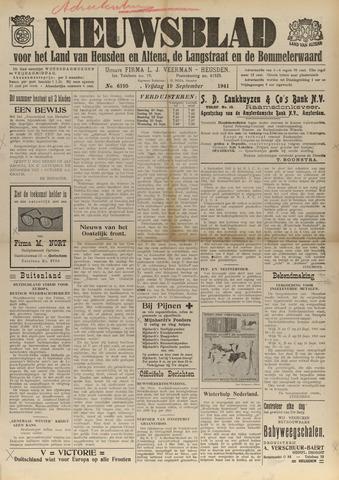 Nieuwsblad het land van Heusden en Altena de Langstraat en de Bommelerwaard 1941-09-19