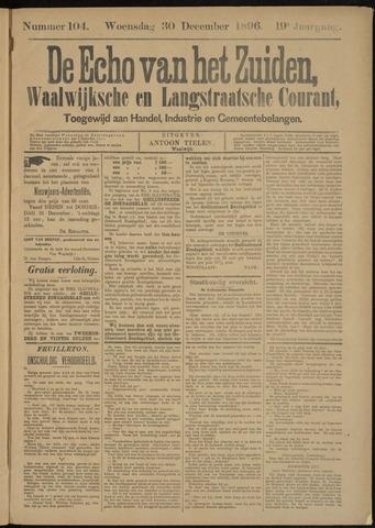 Echo van het Zuiden 1896-12-30