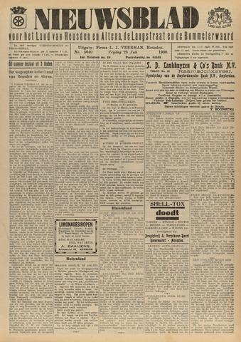 Nieuwsblad het land van Heusden en Altena de Langstraat en de Bommelerwaard 1930-07-25