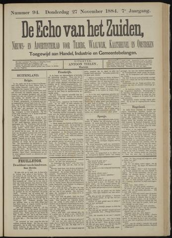 Echo van het Zuiden 1884-11-27