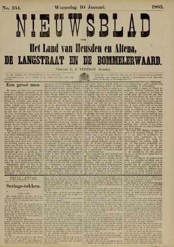Nieuwsblad het land van Heusden en Altena de Langstraat en de Bommelerwaard 1883-01-10