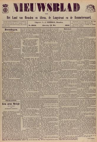 Nieuwsblad het land van Heusden en Altena de Langstraat en de Bommelerwaard 1910-05-14