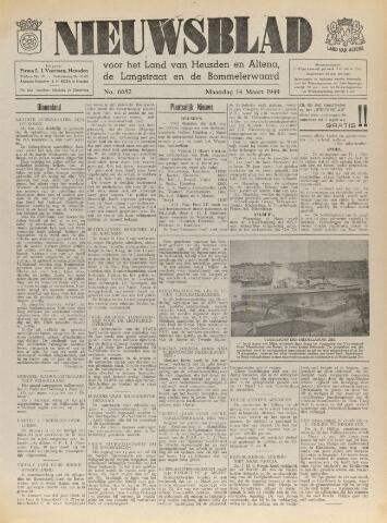Nieuwsblad het land van Heusden en Altena de Langstraat en de Bommelerwaard 1949-03-14
