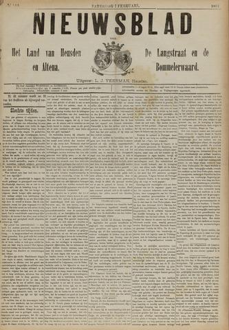 Nieuwsblad het land van Heusden en Altena de Langstraat en de Bommelerwaard 1891-02-07